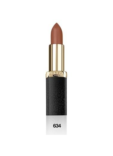 L'Oréal Paris L'Oréal Paris Color Riche Matte Addiction Ruj 634 Greige Perfecto - Kahverengi Kahve